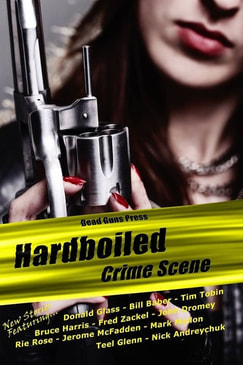 Hardboiled Crime Scene Cover and link to buy